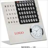 Corporate Table Calender Clock