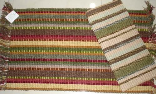 Multi-Color Chenille Kitchen Rugs
