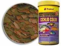 TP CICHLID COLOUR FLAKES XXL FISH FOOD