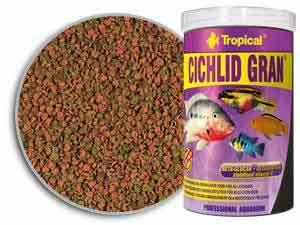 TP CICHLID GRAN PELLET FISH FOOD 1000 ML/550 GM