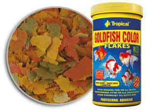 TP GOLD FISH COLOR FLAKES FOOD 300 ML