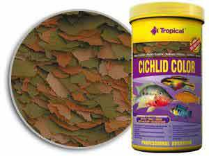 TP CICHLID COLOUR FLAKES  300 ML/55 GM