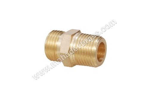 Brass ODxNPT Union