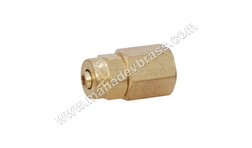 Brass Pu Female Connector