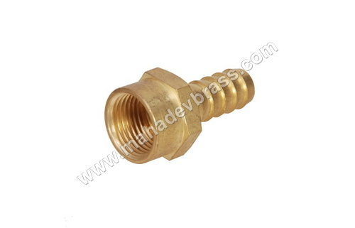 Brass Female Hose Nipple