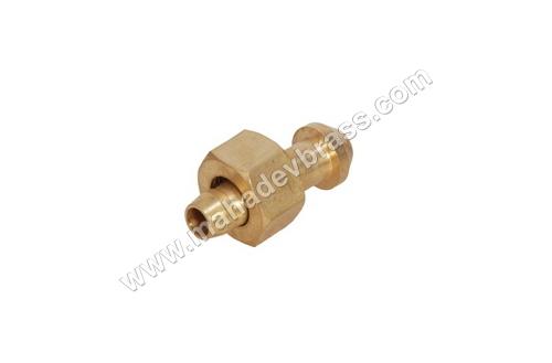 Brass Nut Nipple