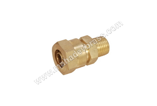 Brass Pu Male Connector