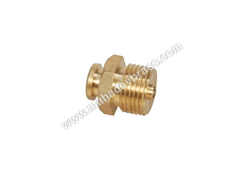 Brass Grease Nipple button type
