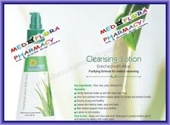 Cleansing Lotion Enriched With Aloe