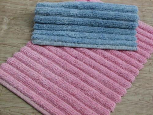 Striped Bath Rugs