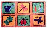 Coloured Coir Door Mats