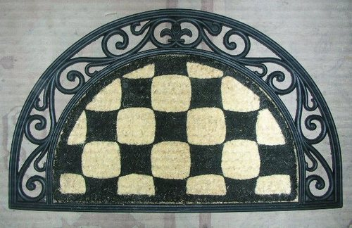 Patterned Coir Door Mats
