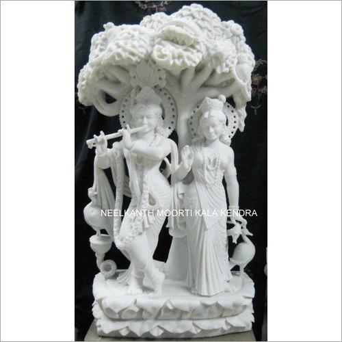 Radha Krishna Iskcon statue
