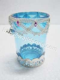 clean glass votive holder