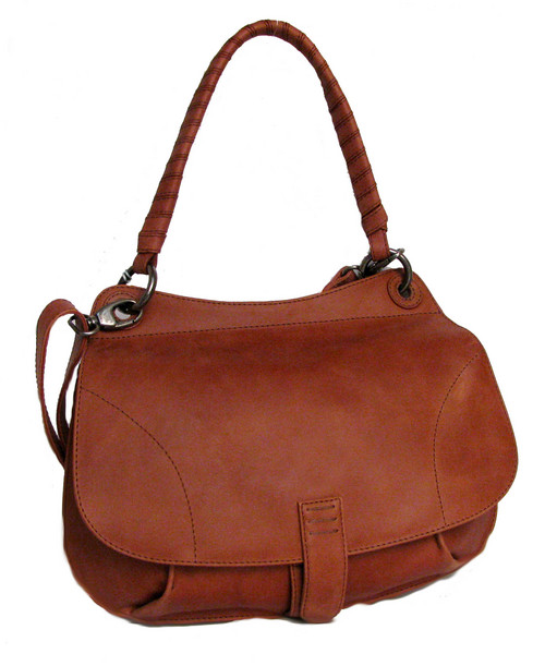 Trendy Shoulder Leather Bag