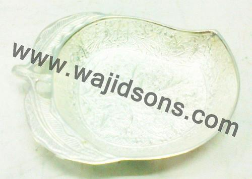 Silver Plated Mango Shaped Bowl