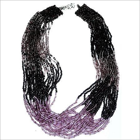 Multi Colour Bead Necklace
