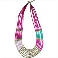 Coloured Bead Necklace