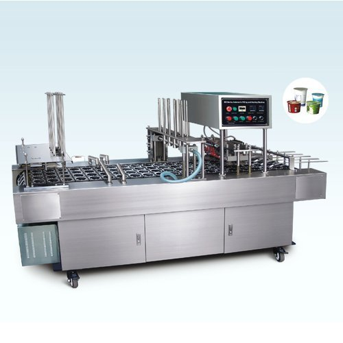 Automatic Cup Sealing & Filling Machine