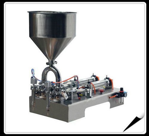 Double Heads Ointment Filling Machine (horizontal type)