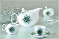 Tea Set - tilted