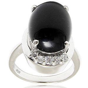 Onyx silver ring cool silver rings cheap nyx silv