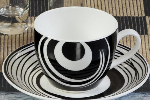 Cup Saucer - Cream