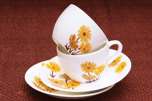 Cup Saucer - Coffee cream