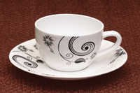 Cup Saucer - Coffee cream