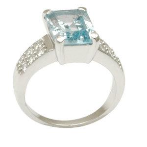 .925 sterling silver aquamarine ring aquamarine silver ring silver aquamarine ring