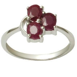 .925 sterling silver genuine ruby ring ruby silver ring sterling silver ruby rings