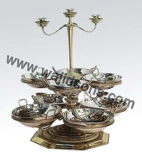 elegant karahi stand