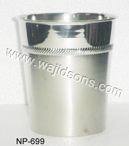 Nickel Plated Ice Bucket