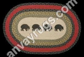 Braided Printed Rug