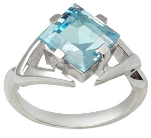 925 silver ring with blue stone blue topaz silver ring silver ring with color stones