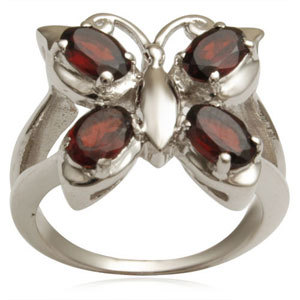 silvercheap silver rings butterfly silver ring but