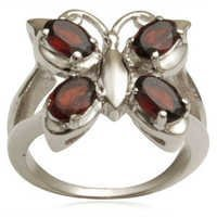 silvercheap silver rings butterfly silver ring but