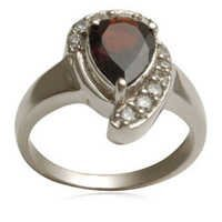 garnet silver ring silver garnet rings finger silver ring