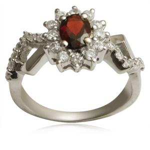 silver fashion ring crystal silver wholesale fashi