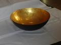 Floated Candle Golden Bowl