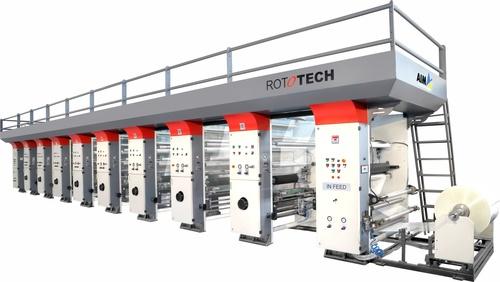 Semi Auto Rotogravure printing machine