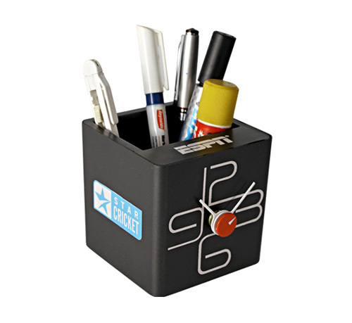 Cube Clock with Tumbler