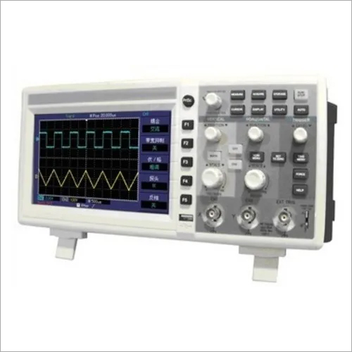 50 MHz Digital Storage Oscilloscope 500MS/s, 2 Ch, 7 Inch