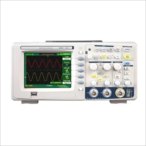 60 MHz Digital Storage Oscilloscope 500MS/s, 2 Ch, 5.7 Inch