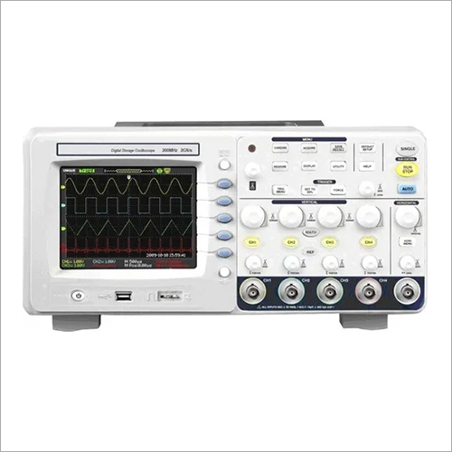200 MHz Digital Storage Oscilloscope 2GS/s, 4 Ch, 7 Inch