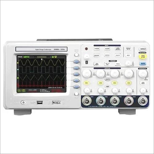 300 MHz Digial Storage Oscilloscope 2GS/s, 4 Ch,7 Inch