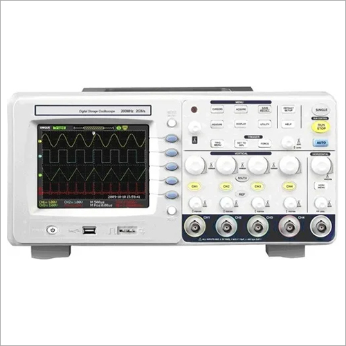 300 MHz Digial Storage Oscilloscope 2GS/s, 4 Ch,7 Inch