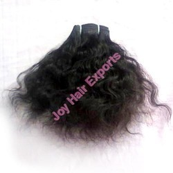 Remy Single Drawn Straight And Curly Bulk Hair