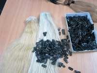 machine weft hair