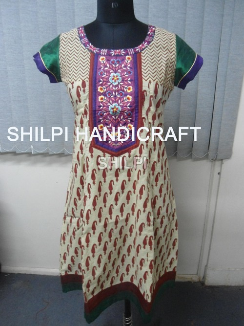 Cotton Embroidery Kurta